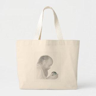 The Watcher Jumbo Tote Bag