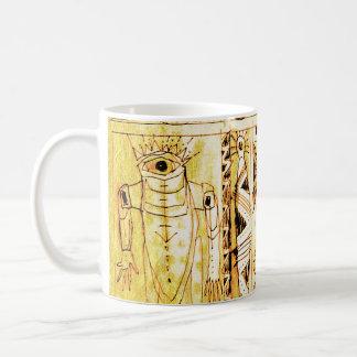the watchers basic white mug