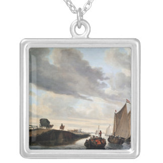 The Water Coach Silver Plated Necklace