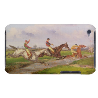 The Water Jump: the Autumn Steeplechase at Ballara iPod Touch Case