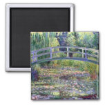 The Water Lily Pond by Claude Monet Fridge Magnet