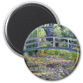 The Water Lily Pond by Claude Monet Magnet