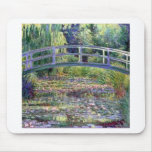 The Water Lily Pond by Claude Monet Mouse Pad