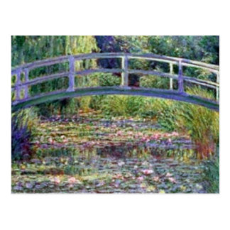 The Water Lily Pond by Claude Monet Postcard