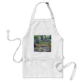 The Water Lily Pond by Claude Monet Standard Apron