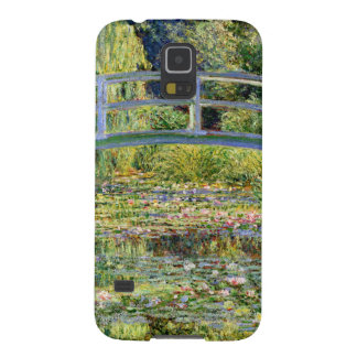 The Water-Lily Pond by Monet Fine Art Galaxy S5 Cases