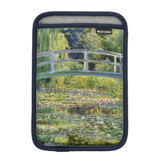 The Water-Lily Pond by Monet Fine Art iPad Mini Sleeves