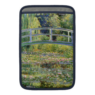 The Water-Lily Pond by Monet Fine Art MacBook Sleeve