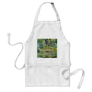 The Water-Lily Pond by Monet Fine Art Standard Apron