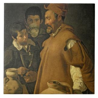 The Water Seller of Seville, c.1620 (oil on canvas Tile