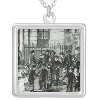 The Water Supply Silver Plated Necklace
