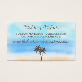 The Watercolor Beach Wedding Collection Website