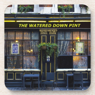 The Watered Down Pint Drink Coaster