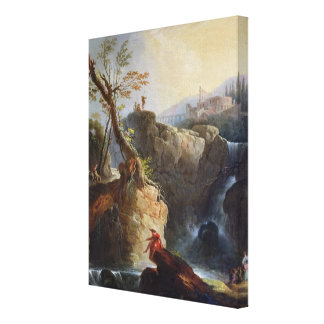 The Waterfall, 1773 Canvas Print