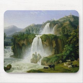 The Waterfall at Tivoli, 1785 Mouse Mat