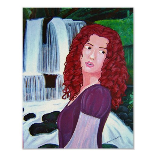 The Waterfall Maiden Poster