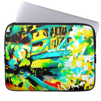 """The Waterlilies Today"" Laptop Sleeve"