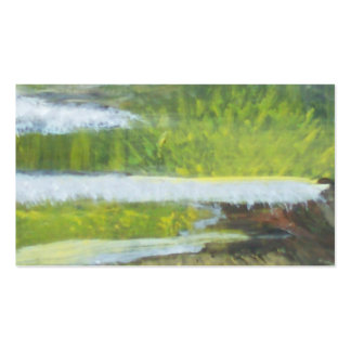 The Waters Edge Pack Of Standard Business Cards