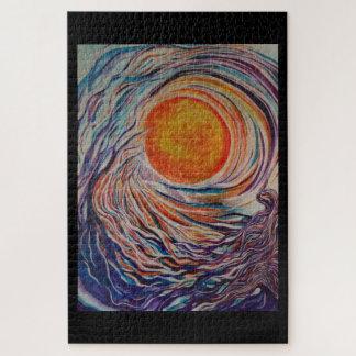 """The Wave """"20 x 30"""" Designer Puzzle"""