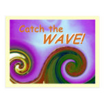 the WAVE for MS Awareness postcard