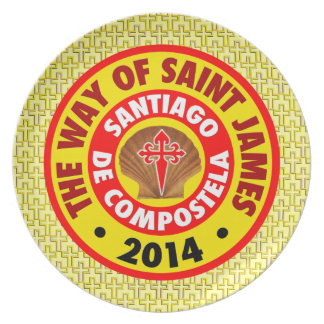 The Way of Saint James 2014 Plate