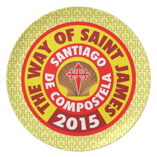 The Way of Saint James 2015 Plate