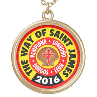 The Way of Saint James 2016 Gold Plated Necklace