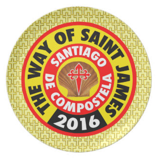The Way of Saint James 2016 Plate