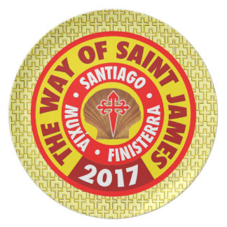 The Way of Saint James 2017 Plate