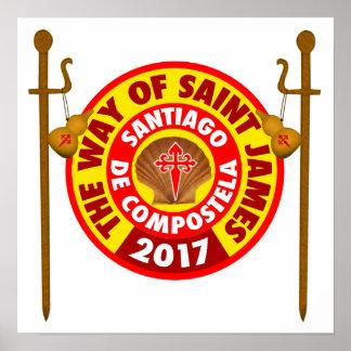 The Way of Saint James 2017 Poster