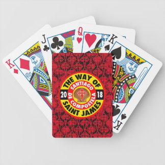 The Way of Saint James 2018 Bicycle Playing Cards