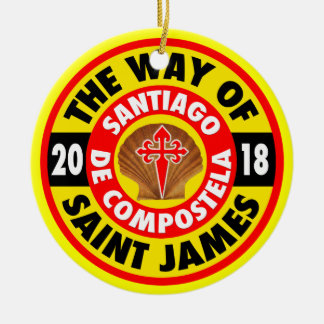 The Way of Saint James 2018 Christmas Ornament