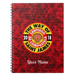 The Way of Saint James 2018 Notebook