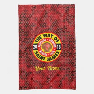 The Way of Saint James 2018 Tea Towel