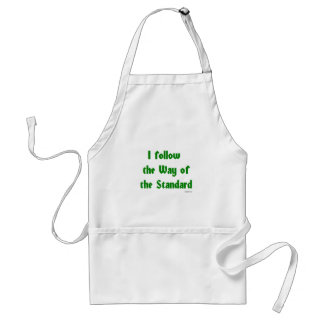 The way of the Standard Standard Apron