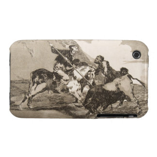 The way the ancient Spaniards baited the bull iPhone 3 Case-Mate Cases