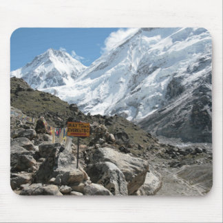 The way to Mount Everest Mouse Mat