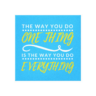 The way you do EVERYTHING Canvas