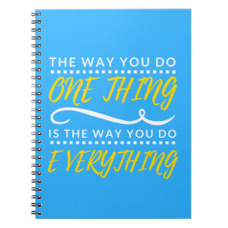 The way you do EVERYTHING notebook