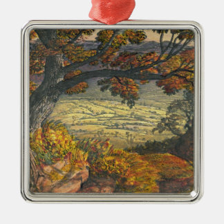 The Weald of Kent, c.1827-28 (w/c & gouache on pap Christmas Ornament