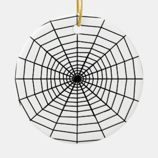 The Web Round Ceramic Decoration