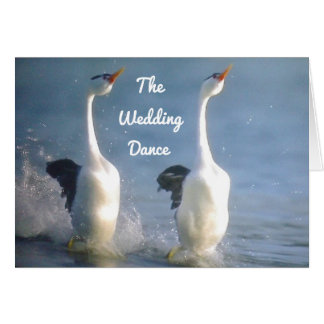 THE WEDDDING DANCE ESPECIALLY FOR YOU CARD