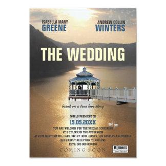 The Wedding 13 Cm X 18 Cm Invitation Card