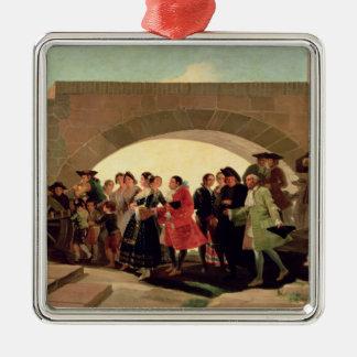 The Wedding, 1791-92 Christmas Ornament