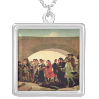 The Wedding, 1791-92 Silver Plated Necklace