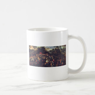 The Wedding Banquet By Bruegel D. Ä. Jan (Best Qua Basic White Mug