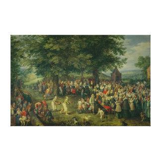 The Wedding Banquet Canvas Print