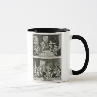 The Wedding Ceremony and the Manner of Divorce in Mug