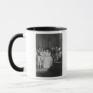 The wedding ceremony mug