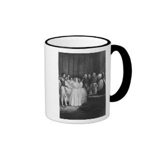 The wedding ceremony mugs